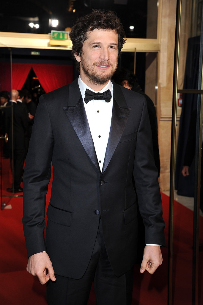 Guillaume Canet at the César Awards in Paris.