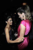 Kate Beckinsale and Eva Longoria attended the launch for the Eva Longoria Foundation.