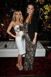 Nicole Richie and Molly Sims at the Four Seasons.