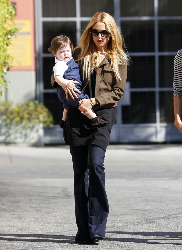 "Stylish ""Ma Ma"" Rachel Zoe Lunches With Skyler and Her Best Bud"