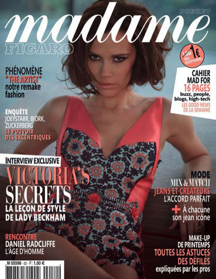Victoria Beckham Rocks a Swimsuit For an International Cover