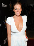 LeAnn Rimes wore a revealing, white Tom Ford dress.