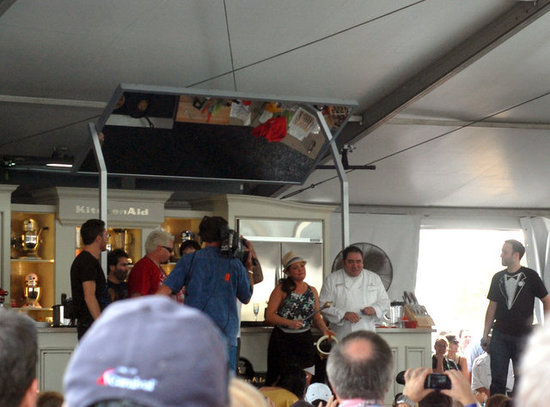 The Crowd Loves Emeril