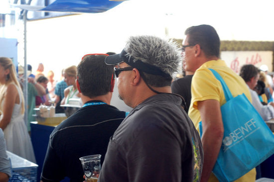 Where in SOBEWFF Is Fake Guy Fieri?