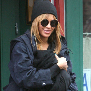 Blue Ivy Carter Pictures at Lunch With Beyonce and Jay-Z