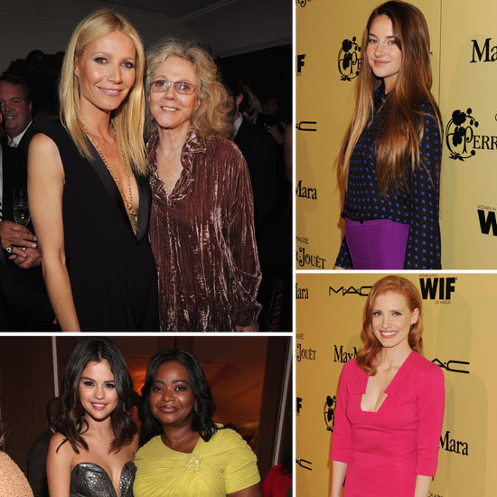 Gwyneth Celebrates Women in Film With Selena, the Ladies of The Help, and More