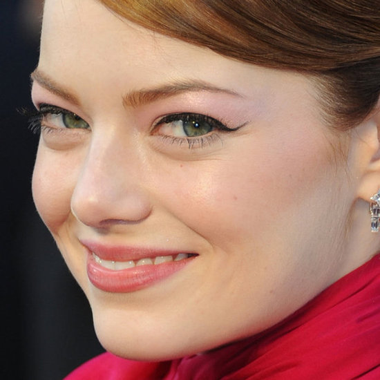 Emma Stone: Her Oscars Eyeliner