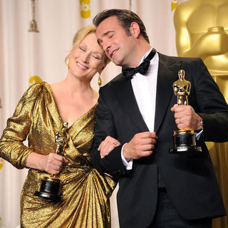 Oscars Press Room Pictures 2012
