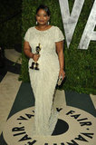 Octavia Spencer and her Oscar