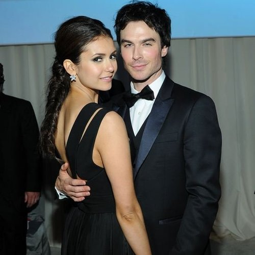 Nina Dobrev and Ian Somerhalder 2012 Oscars (Video)