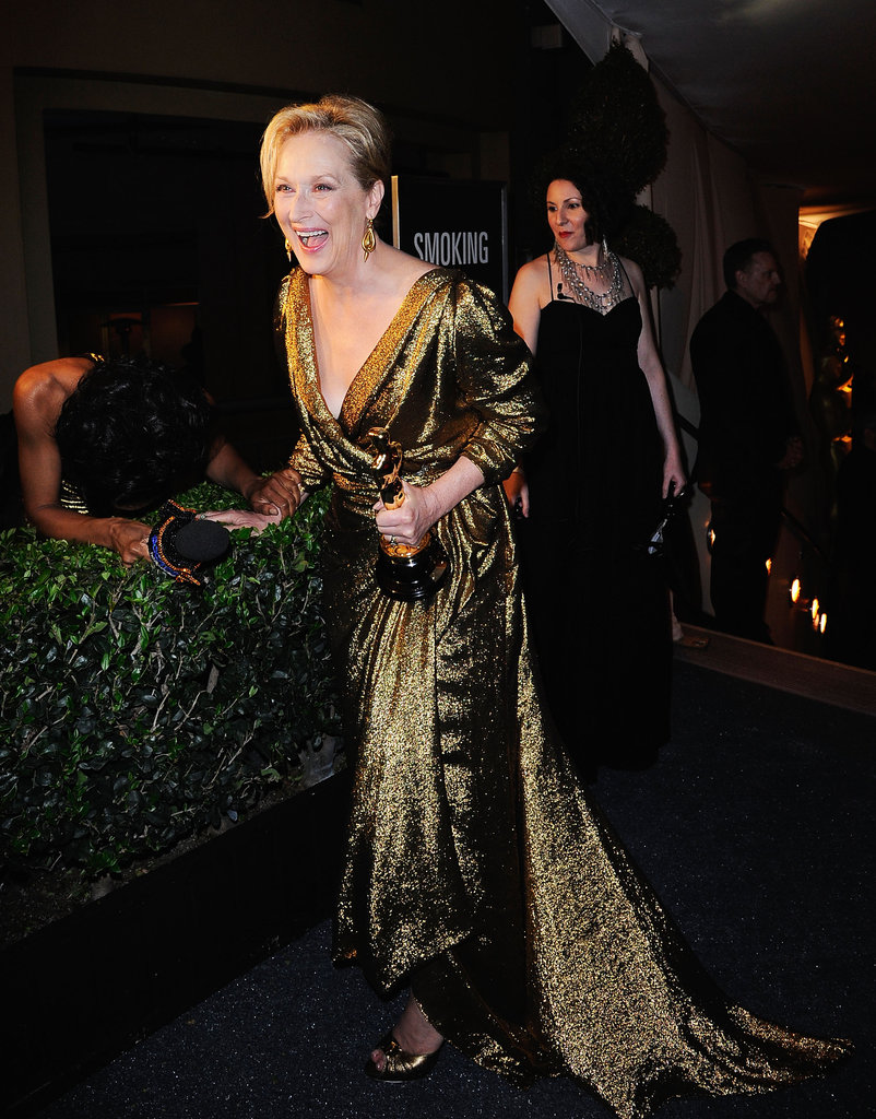 Meryl, Octavia and More Oscars Winners Celebrate at the Governors Ball
