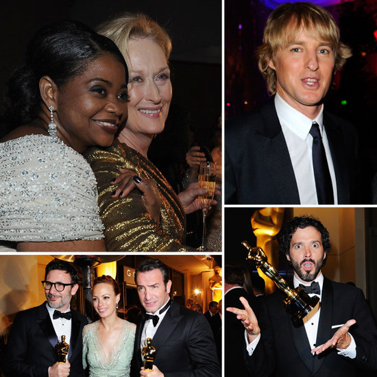 Meryl, Octavia, and More Oscars Winners Celebrate at the Governors Ball