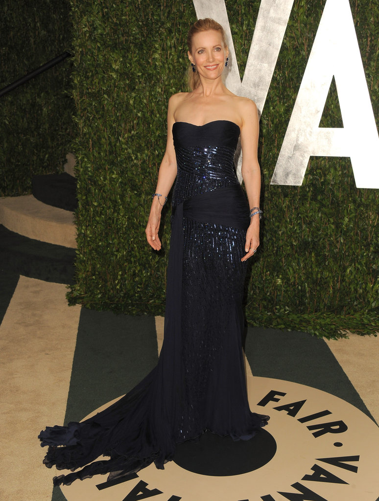 Leslie Mann at the Vanity Fair party.