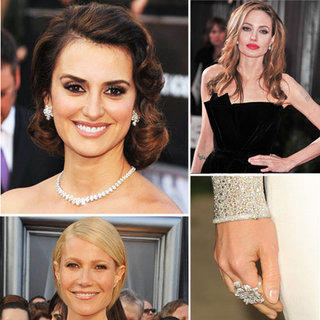 Oscars Backstage Beauty: Celebrity Red Carpet Looks in 2012