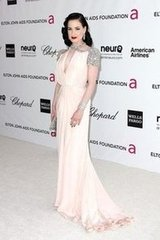 Dita Von Teese(20th Annual Elton John AIDS Foundation's Oscar Viewing Party)