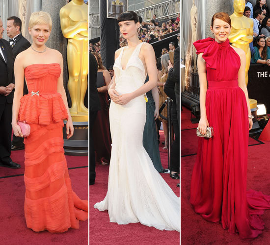 2012 Oscars: See All the Celebrity Red Carpet Arrivals