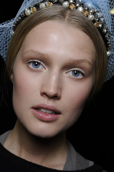 Fall 2012 Beauty Preview —Straight From Milan Fashion Week