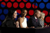 Kelly Cutrone, Tyra Banks, Nigel Barker, and Kelly Osbourne on America's Next Top Model.  Photo courtesy of The CW