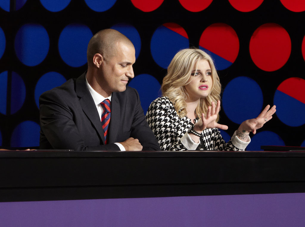 Nigel Barker and Kelly Osbourne on America's Next Top Model.  Photo courtesy of The CW