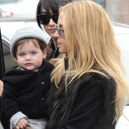Rachel Zoe With Skyler and Mandana in LA Pictures
