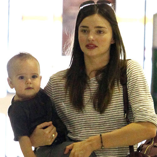 Miranda Kerr Pictures With Walking Flynn Bloom