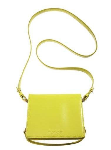 This silhouette's timeless — but the citrus hue feels fresh for Spring. Jil Sander Lady Crossbody ($1,280)