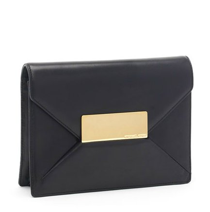 Few designers do minimalist quite as well as Michael Kors — this little find is a classic you'll return to season after season. Michael Kors Quinn Clutch ($495)