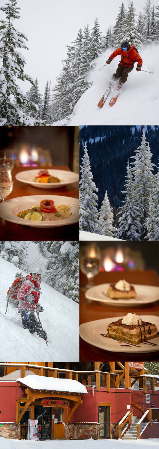 Gourmet Dining at Gabriella's at Red Mountain Resort