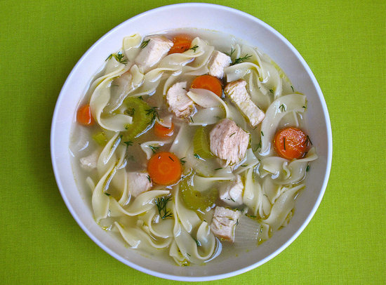 Dilly Chicken Noodle Soup