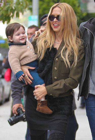 Rachel Zoe and Skyler Berman shared a moment.