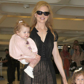 Nicole Kidman and Keith Urban Pictures With Faith and Sunday