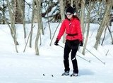 Pippa Middleton practiced her skiing.