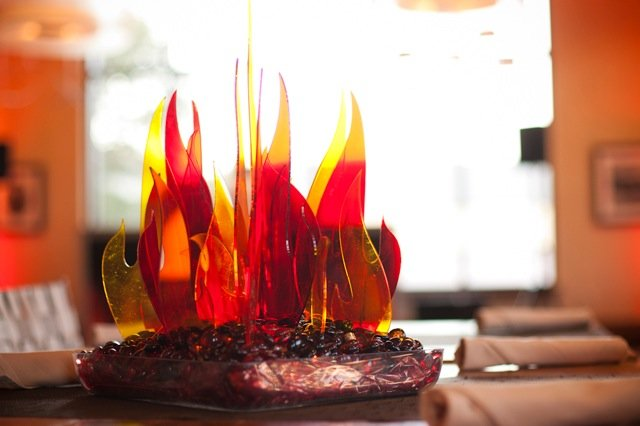 Fire Centerpieces