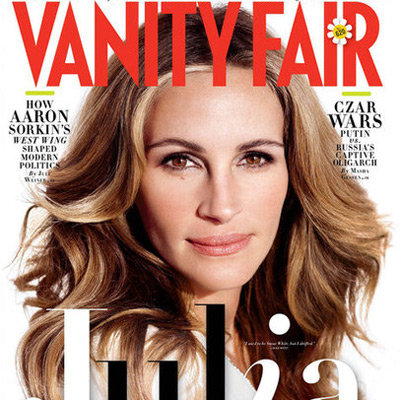 Julia Roberts Vanity Fair Magazine April 2012 Issue Pictures and Interview