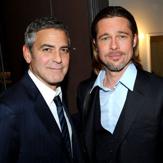 George Clooney et Brad Pitt s&#039;unissent pour dfendre les droits des homosexuels