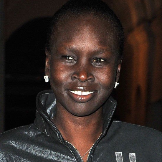 Alek Wek at Hogan by Karl Lagerfeld