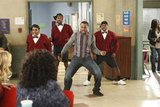 Malcolm Jamal Warner as Andre in Community. Photo courtesy of NBC