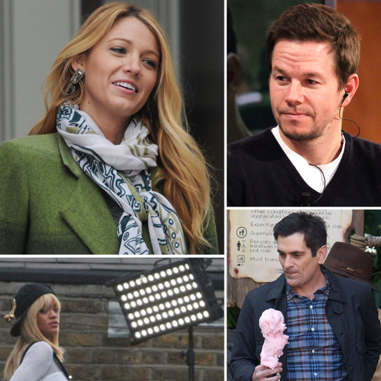 Blake Lively, Mark Wahlberg, and More Stars on Set!