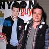 Josh Hutcherson Nylon Guys Cover Launch Party Pictures
