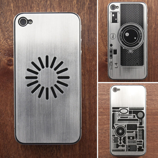 Dress Up Your iPhone's Back Plate With Stainless Steel