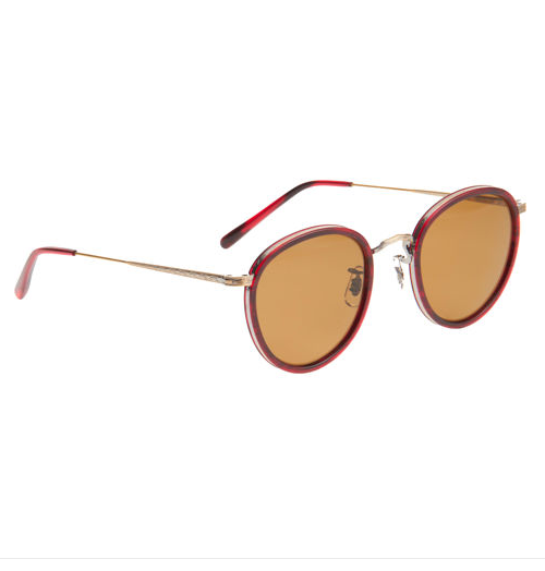 Oliver Peoples makes some of the lightest and most durable sunnies. This round pair is retro, yet still refined.  Oliver Peoples MP-2 Round Sunglasses ($490)