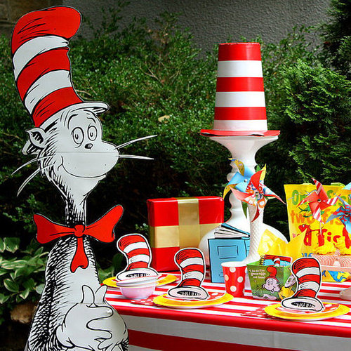 Dr. Seuss Themed Birthday Party Ideas