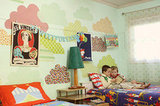 A Whimsical Little Boys Room