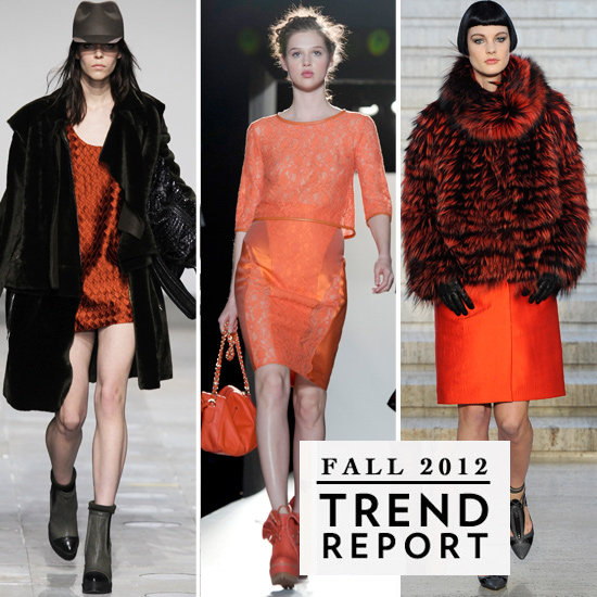 The Burnt Orange Trend From London Fashion Week