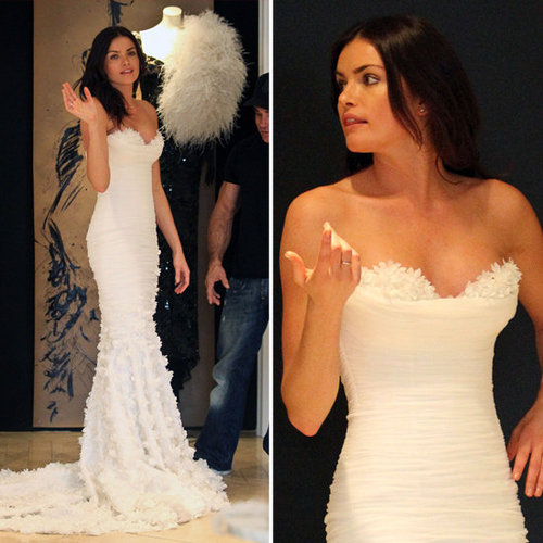 Courtney From Bachelor in Wedding Dress