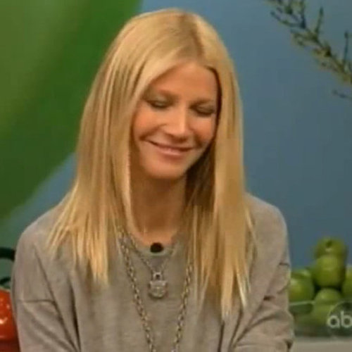 Gwyneth Paltrow Video on The Chew