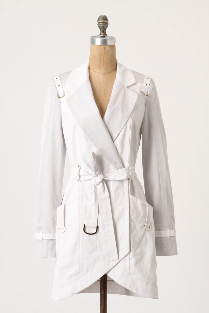 Anthropologie Tulip Hem Trench ($298)