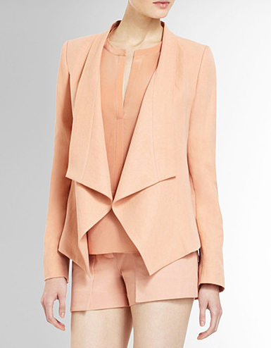 BCBGMAXAZRIA Abree Relaxed Jacket ($268)