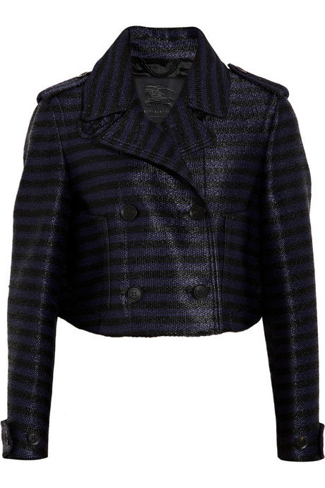 Burberry Stripe Crop Jacket ($2,995)