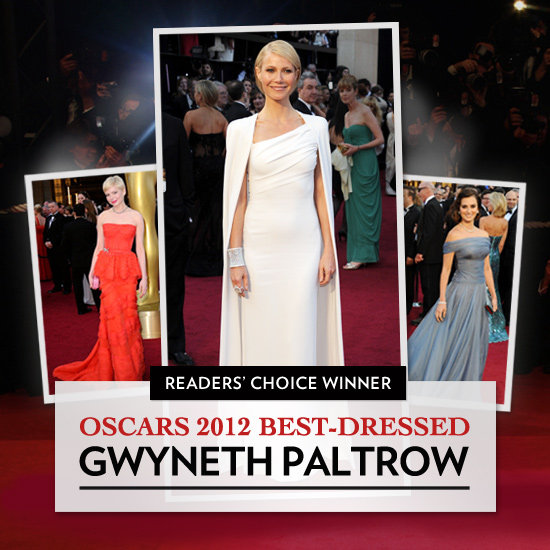 You Voted in Our Oscars 2012 Best Dressed Bracket, and the Winner Is . . .